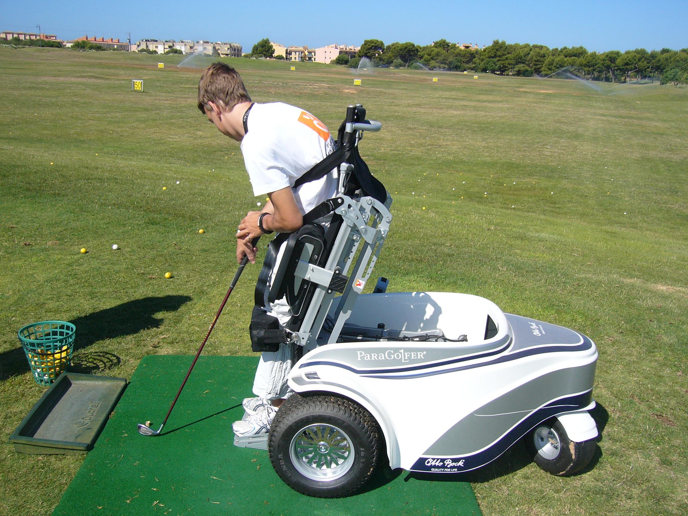 golf handisport