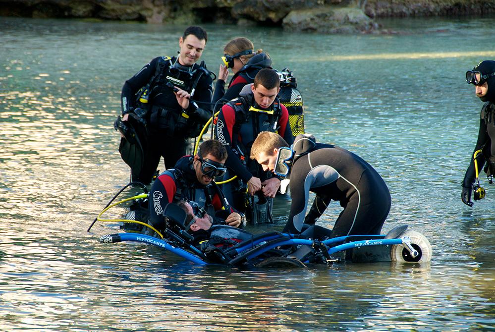 submarinismo handisport